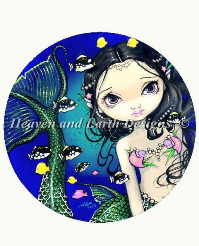 QS Porthole Mermaid-Jasmine Becket Griffith