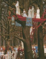 Druids Cutting The Mistletoe