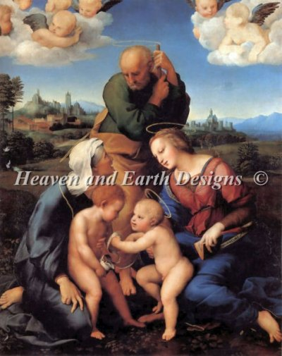 The Holy Family With Saints Elizabeth And John