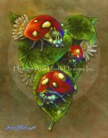 Lady Bugs Three