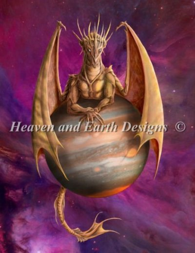 Jupiter Dragon - No Background