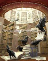Ravens In The Library Material Pack