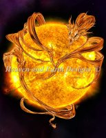 Sun Dragon NO Background Material Pack