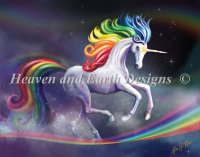 Rainbow Dancer Unicorn