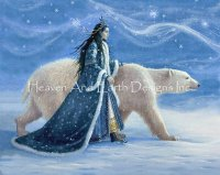 Snow Princess And the Polar Bear Max Colors