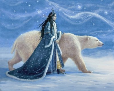 Snow Princess and the Polar Bear
