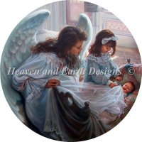 Angel And Newborn Material pack