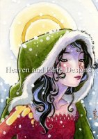 Winter ACEO