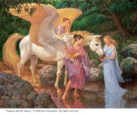 Pegasus and the Muses