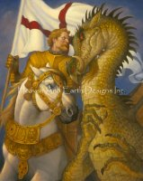 St. George and the Dragon SG