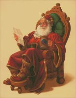 St. Nicholas in His Chair