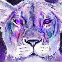 Purple Majestic Lion Material Pack