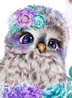 QS Boho Friends Owl