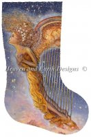 Stocking Harp Angel