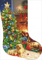 Stocking Cozy Christmas Request A Size