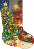 Stocking Cozy Christmas DG