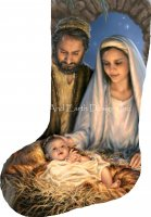 Stocking Holy Family Flipped Request A Size