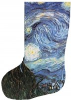 Stocking Starry Night