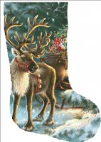 Stocking The Enchanted Christmas Reindeer