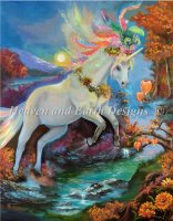 Colour Fall Unicorn