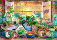 Supersized Boho Seaside View Max Colors