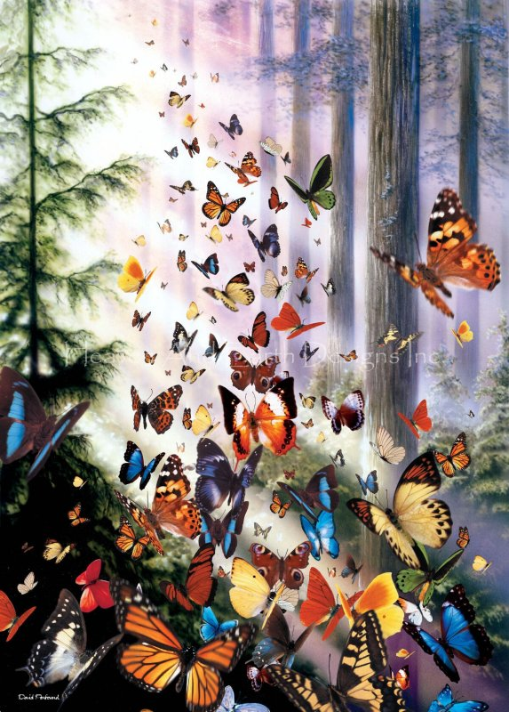 Supersized Butterfly Woods Max Colors - Click Image to Close