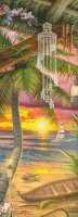 Supersized Storykeep Tiki Beach Sunset