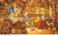 Supersized St Nick In His Study Max Colors Material Pack