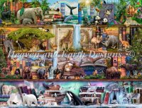 Supersized The Amazing Animal Kingdom Max Color Material Pack