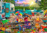 Supersized The Family Campsite Max Colors