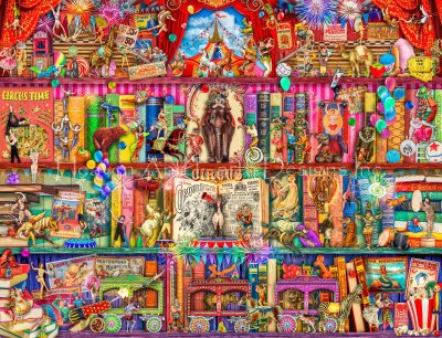 Supersized The Marvelous Circus Max Colors
