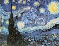 Supersized The Starry Starry Night