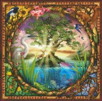Supersized Tree Of Life Max Color Material Pack