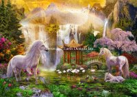 Supersized Unicorn Valley Of The Waterfalls Max Color Material Pack