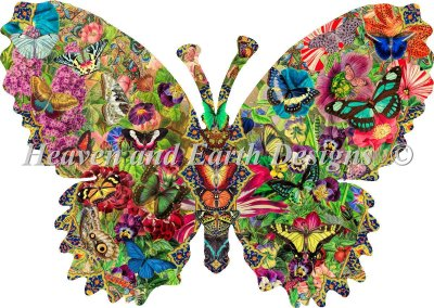 Supersized Butterfly Menagerie Max Color