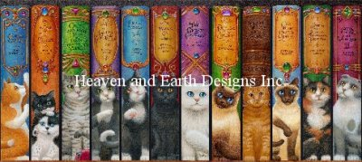 Supersized Cat Bookshelf Material Pack
