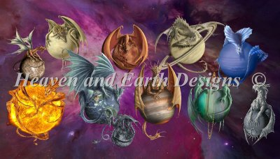 Supersized Planet Dragons Max Color Material Pack