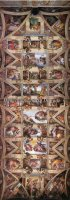 Supersized Sistine Chapel Ceiling