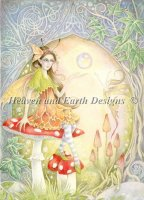 Celtic Amanita Fairy