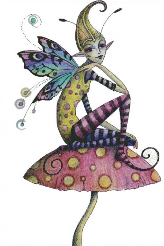 Polka Dots Pixie - Click Image to Close