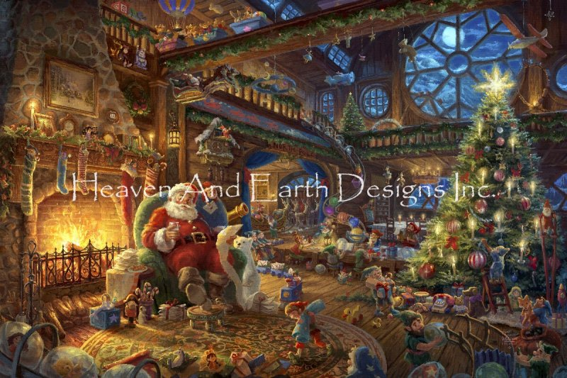 Santa's Workshop Color Expansion - Click Image to Close