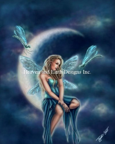 Dragonfly Moon Material Pack