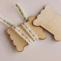 Wooden Floss Bobbins (Set of 50)