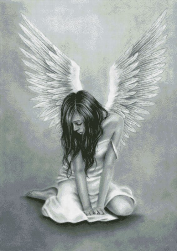 Heartbroken Angel - Click Image to Close