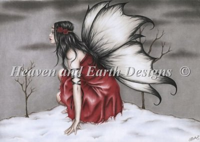 Red Winter Fairy