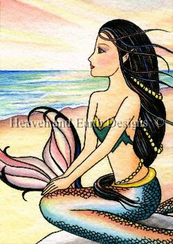 QS Mermaid By The Seashore