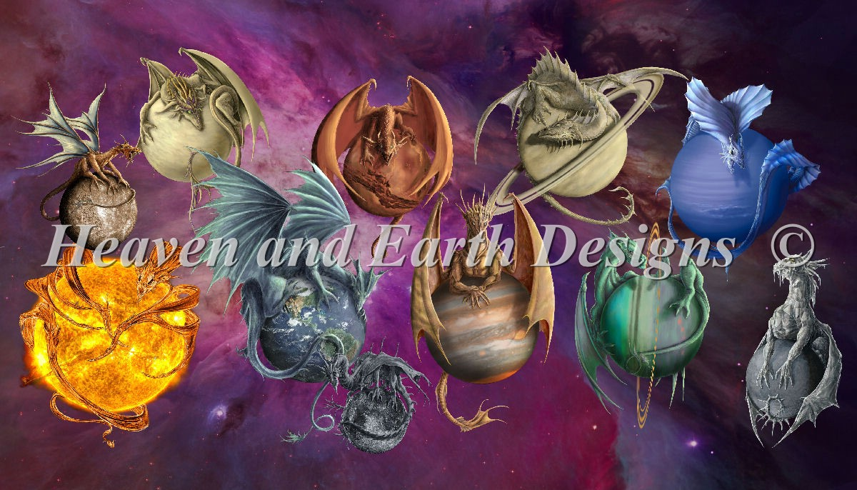 Supersized Planet Dragons Max Colors