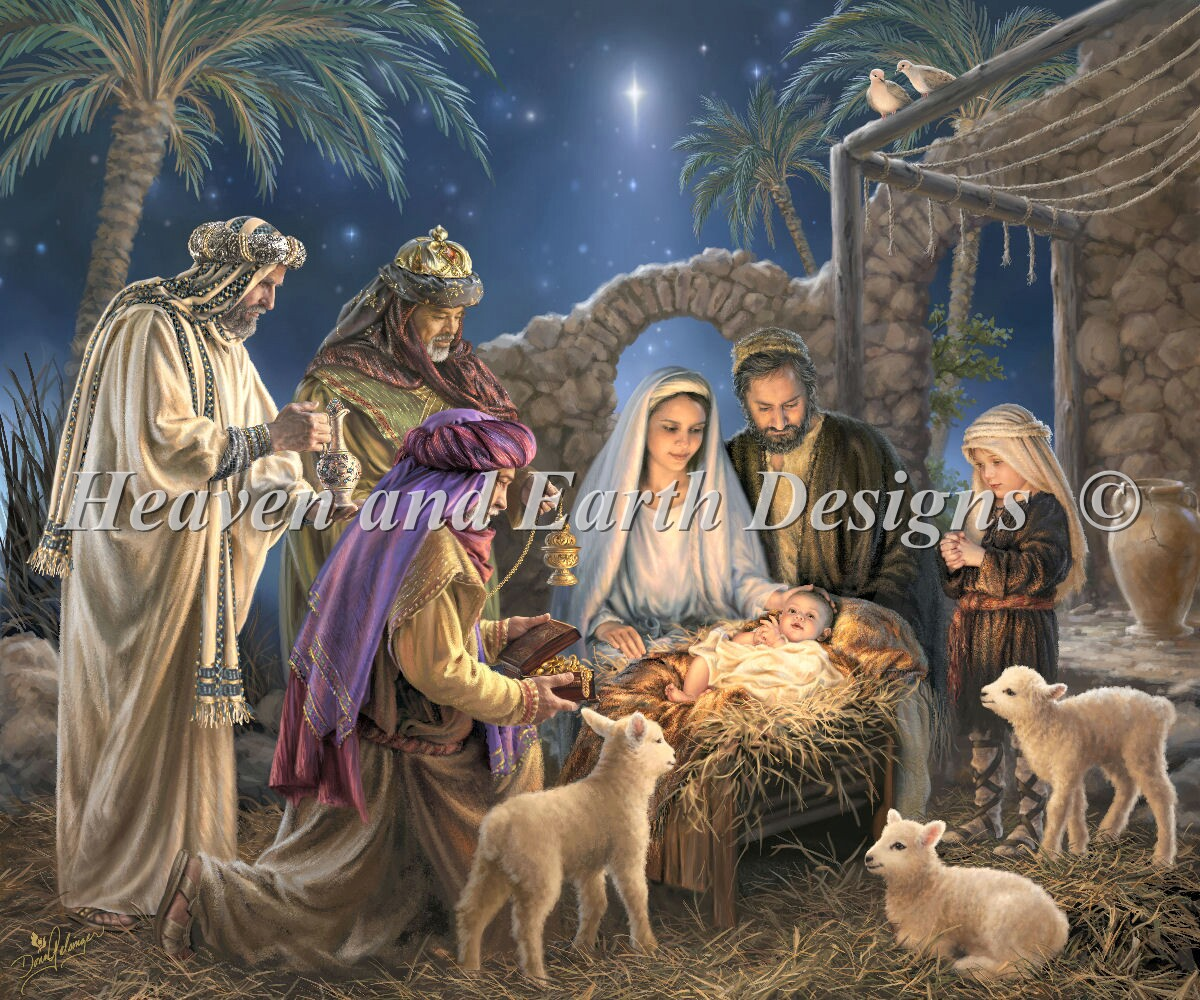 Supersized The Nativity Max Color