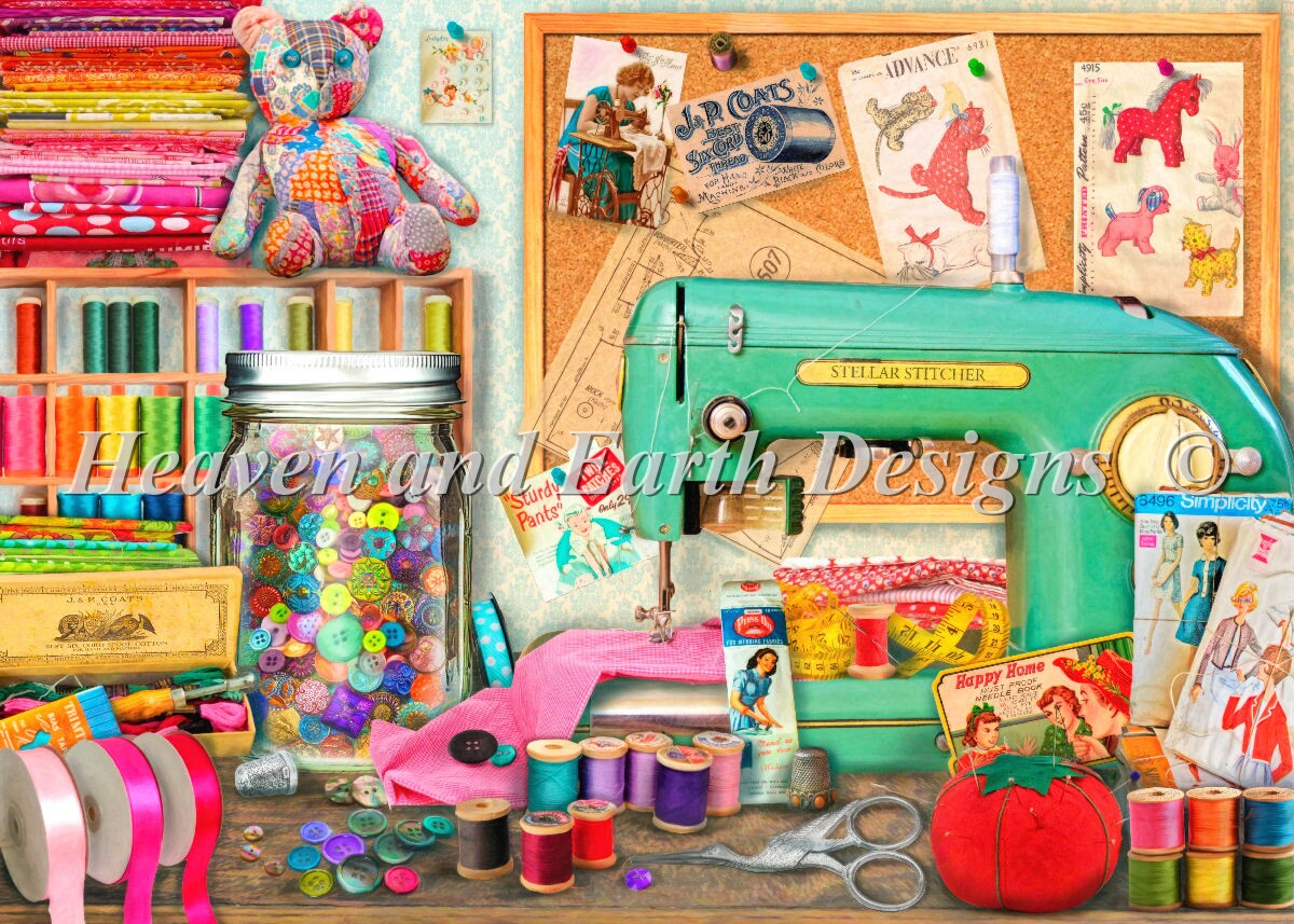 Supersized The Sewing Desk Max Color