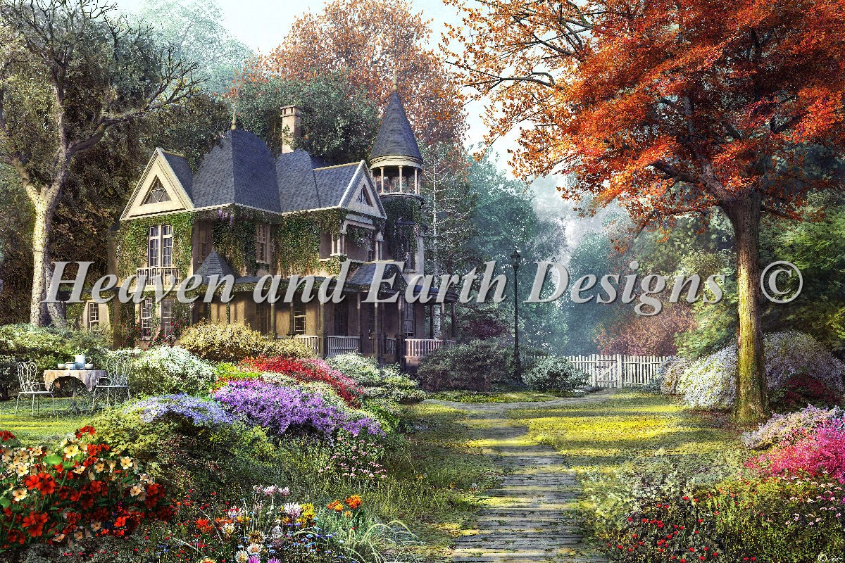 Supersized Victorian Garden Max Color